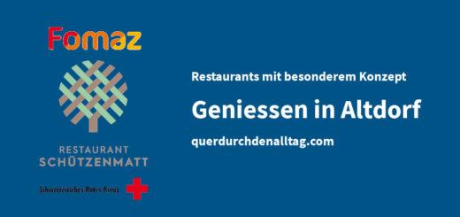 Restaurant Schützenmatt Fomaz SRK Altdorf