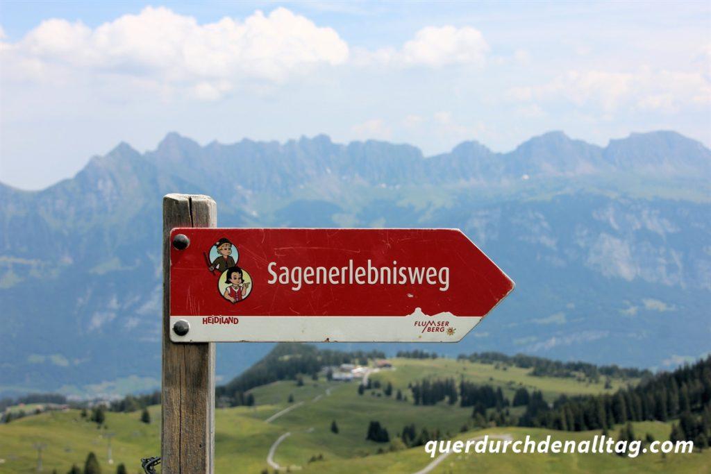 Sagen-Erlebnisweg Flumserberg