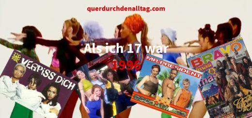 Mit 17 Jahr Blogparade Zwetschgenmann