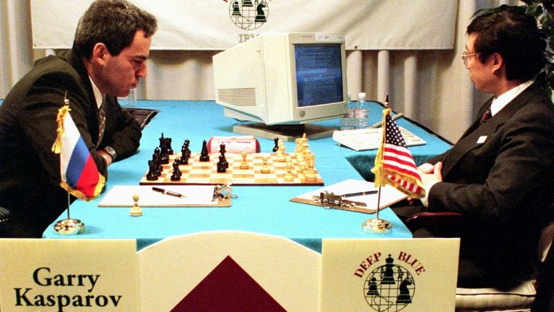 Schach Deep Blue Garry Kasparov