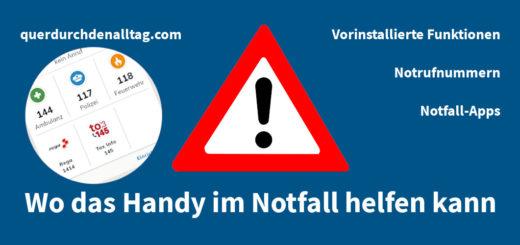 Notfall Handy SOS