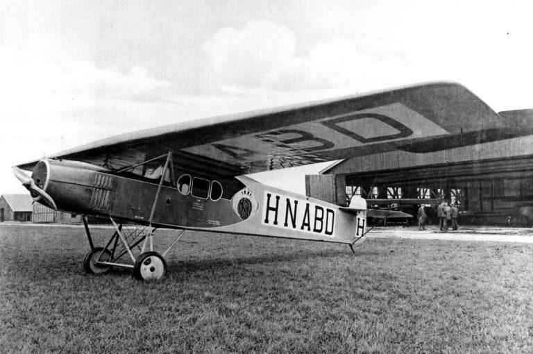 1919 KLM Passagierflugzeug