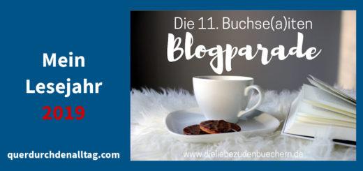 Lesejahr 2019 Blogparade Buchse(a)iten