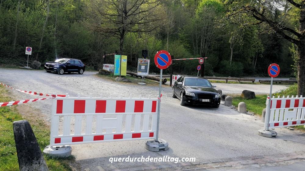 Parkplatz Greifensee Corona Alltag Bilder