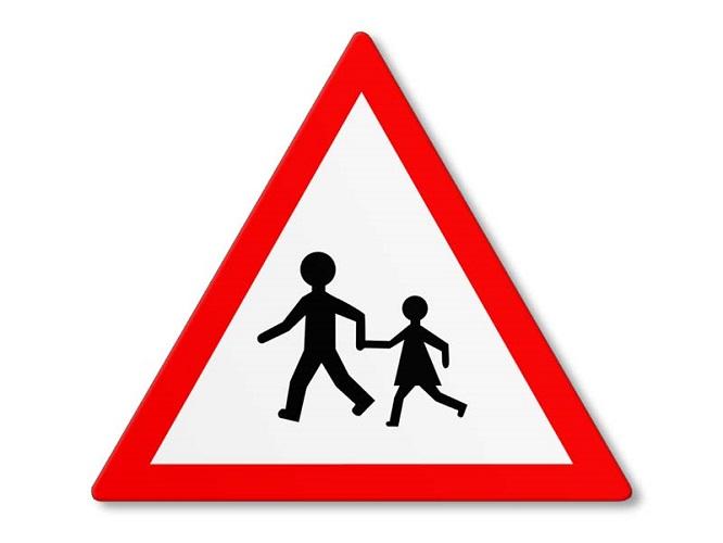 Achtung Kinder Verkehr