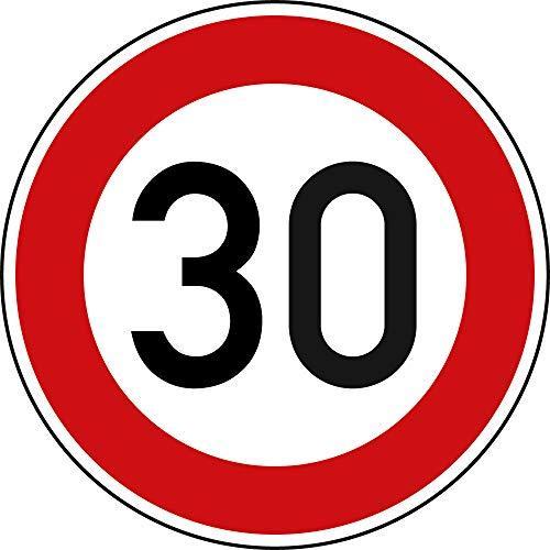 Tempo 30 Tafel Verkehr