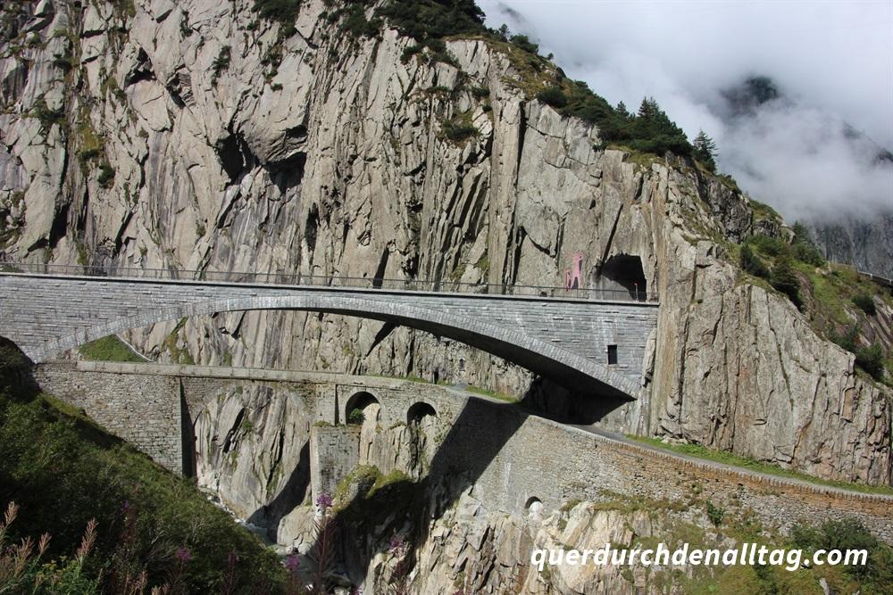 Teufelsbrücke Schöllenen Uri