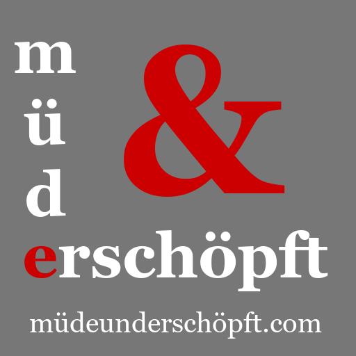 Müde & Erschöpft Logo